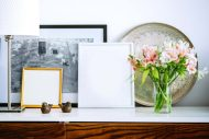 Three ways to style your console table